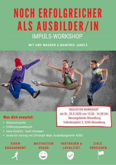 Veranstaltung Ausbilder-Workshop Manfred Janele und Uwe Wagner